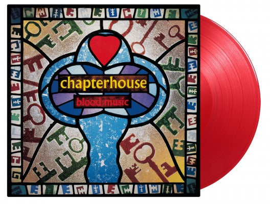 CHAPTERHOUSE Blood Music 2LP Red Vinyl