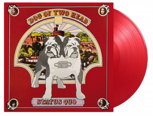 STATUS QUO Dog Of two Head LP Numbered Red Vinyl