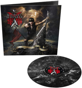 MSG (MICHAEL SCHENKER GROUP) Immortal LP Marbled Vinyl (inc poster)