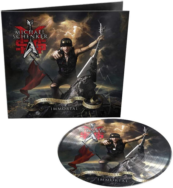 MSG (MICHAEL SCHENKER GROUP) Immortal LP PICTURE DISC