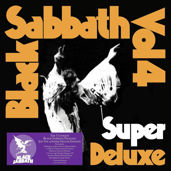 BLACK SABBATH Vol. 4 LP Super Deluxe 5LP Box Set LIMITED