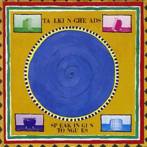 TALKING HEADS Speaking In Tongues LP Sky Blue vinyl