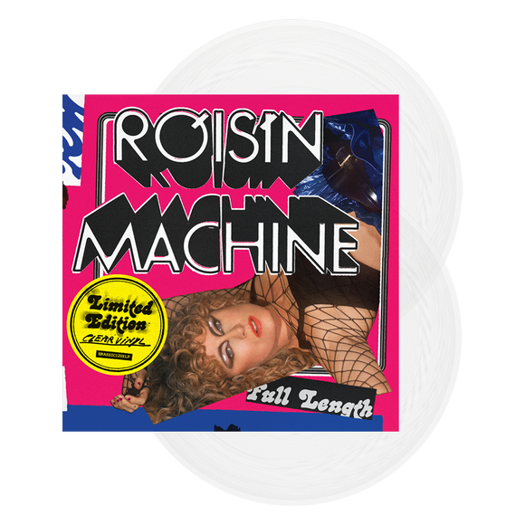 ROISIN MURPHY Róisín Machine - Transparent vinyl 2LP + zine and signed photo
