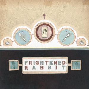 "FRIGHTENED RABBIT The Winter of Mixed Drinks LP + 7"" Blue Vinyl"