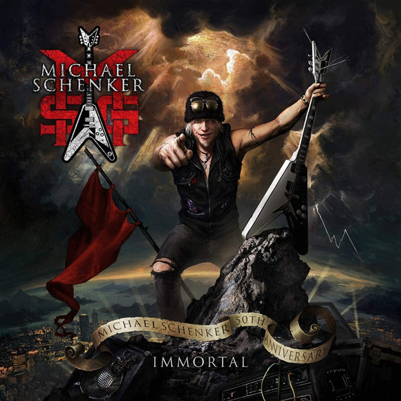 MSG (MICHAEL SCHENKER GROUP) Immortal 3CD/Blu-Ray