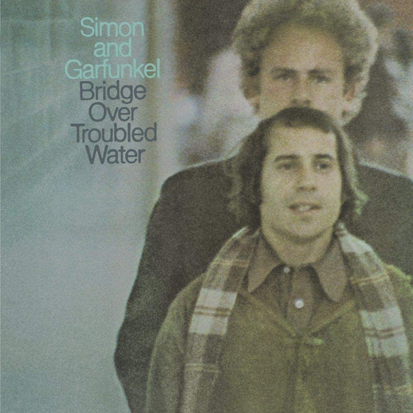 SIMON & GARFUNKEL Bridge Over Troubled Water LP ultra clear transparent vinyL