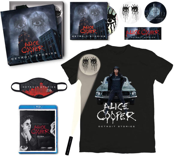 ALICE COOPER Detroit Stories CD BOXSET