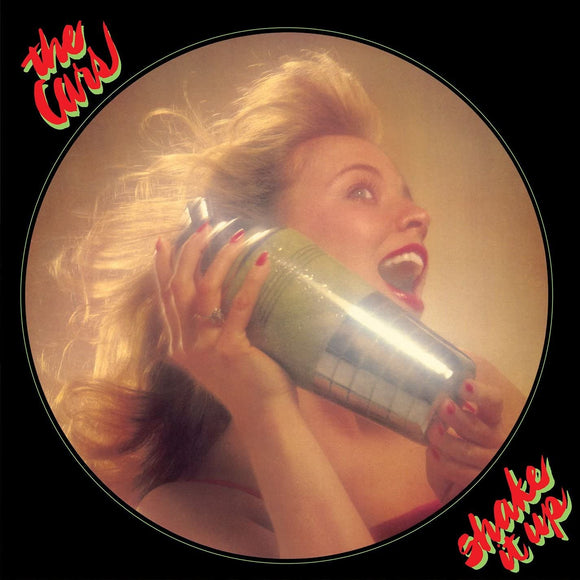 THE CARS Shake It Up LP Green Vinyl