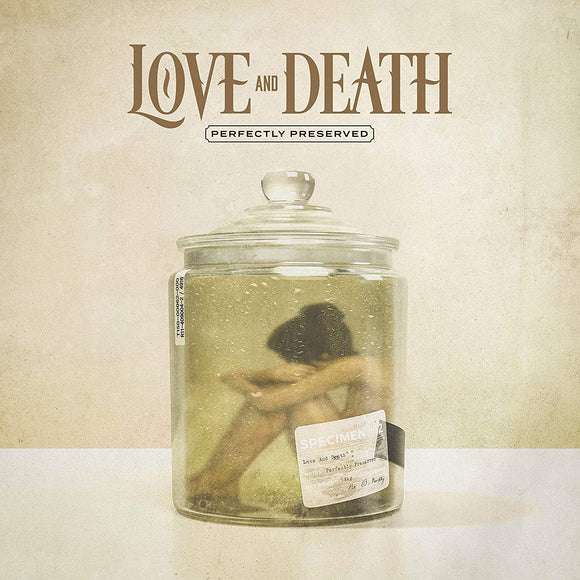 LOVE AND DEATH Perfectly Preserved LP Indies Only Pickle Green Vinyl