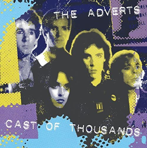 ADVERTS Cast Of Thousands LP