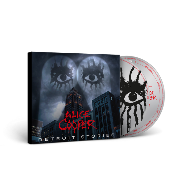 ALICE COOPER Detroit Stories CD + DVD