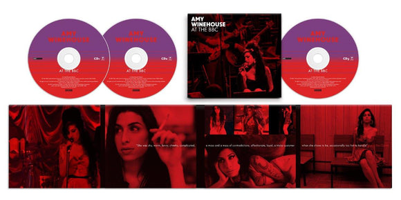 AMY WINEHOUSE At The BBC 3CD SET