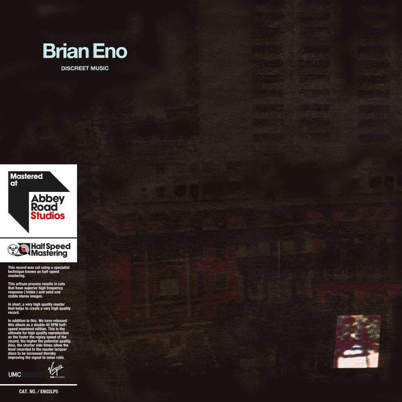 BRIAN ENO Discreet Music 2LP SET