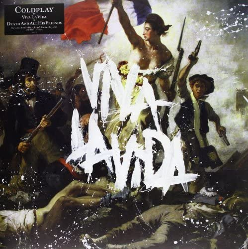 COLDPLAY Viva La Vida or Death and All His Friends LP