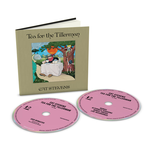 YUSUF / CAT STEVENS Tea For The Tillerman 2CD DELUXE EDITION