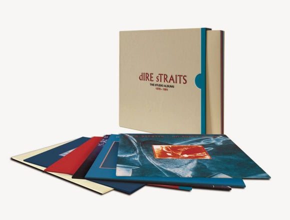 DIRE STRAITS The Studio Albums: 1978-1991 8LP Box Set (NAD 20)