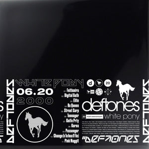 DEFTONES White Pony (20th Anniversary Super Deluxe Edition)  4LP with Art Print INDIE EXCLUSIVE