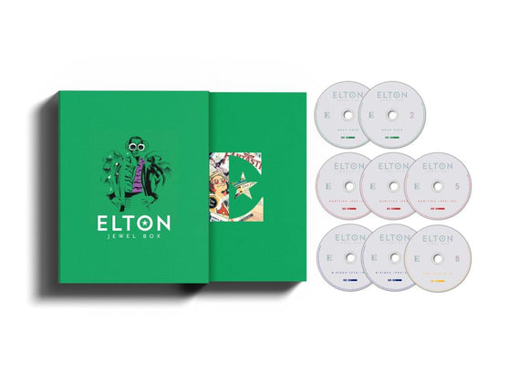 ELTON JOHN Jewel Box  8CD BOX SET