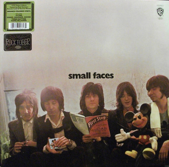 FACES First Step ORANGE VINYL LP