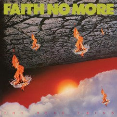 FAITH NO MORE The Real Thing LP Yellow Vinyl