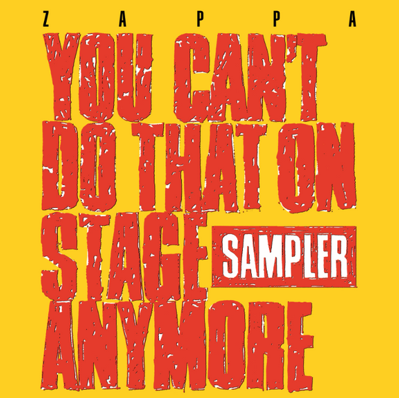 FRANK ZAPPA You Can't Do That On Stage Anymore 2LP RSD DROP 3