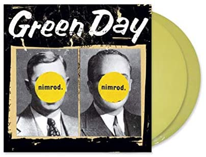 GREEN DAY Nimrod 2LP SET Transparent Yellow Vinyl INDIE EXCLUSIVE