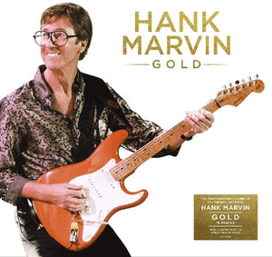 HANK MARVIN Gold  LP GOLD VINYL