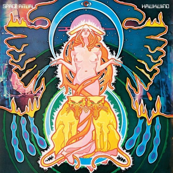 HAWKWIND The Space Ritual Alive In London  2LP