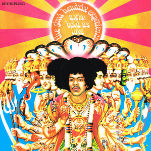 JIMI HENDRIX EXPERIENCE Axis: Bold As Love LP (STEREO) 180g