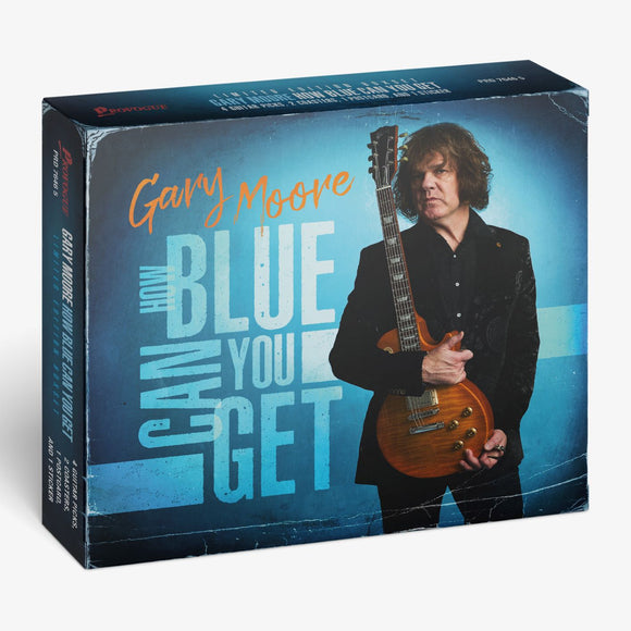 GARY MOORE How Blue Can You Get CD BOX With Guitar Picks etc
