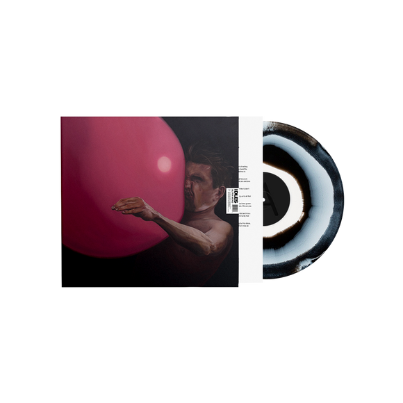 IDLES  Ultra Mono LP Limited Edition Vortex Vinyl