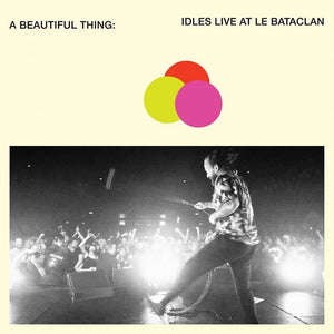 IDLES A Beautiful Thing: Idles Live At Le Bataclan LP Orange Clear Neon Vinyl
