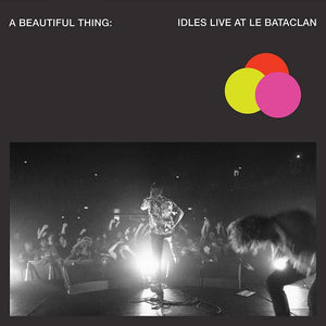 IDLES A Beautiful Thing: Idles Live At Le Bataclan LP Pink Clear Neon Vinyl