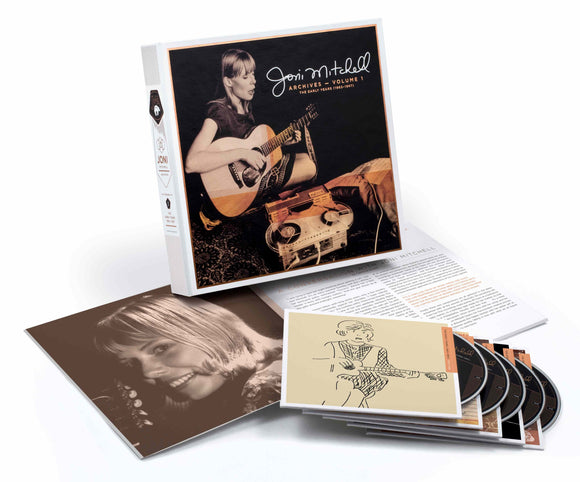 JONI MITCHELL Archives Vol 1 The Early Years (1963-1967) 5CD BOXSET
