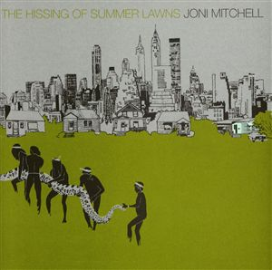 JONI MITCHELL The Hissing of Summer Lawns LP