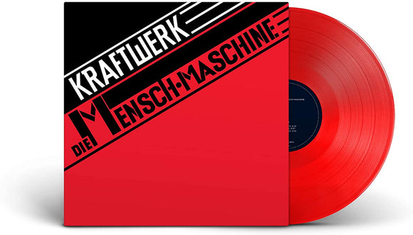 KRAFTWERK Die Mensch-Maschine  LP Translucent Red Vinyl LIMITED GERMAN VERSION