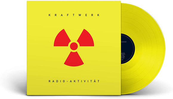 KRAFTWERK Radio-Aktivität LP Translucent Yellow Vinyl LIMITED GERMAN VERSION