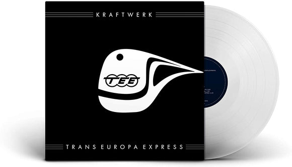 KRAFTWERK Trans Europa Express LP Clear Vinyl LIMITED GERMAN VERSION