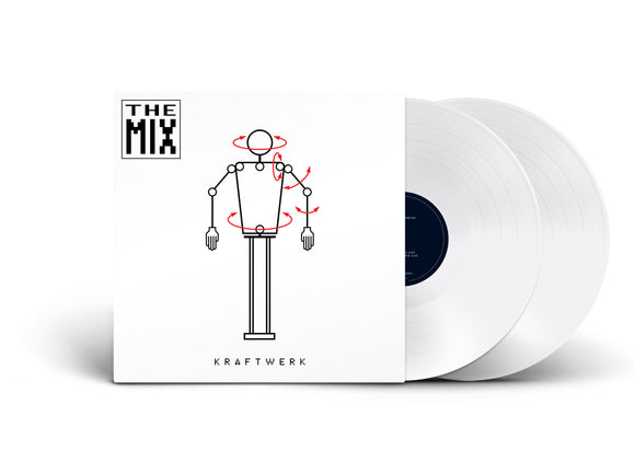 KRAFTWERK The Mix 2LP White Vinyl