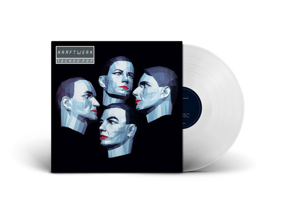 KRAFTWERK Techno Pop LP Clear Vinyl LIMITED GERMAN VERSION