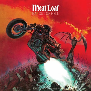 MEAT LOAF Bat Out Of Hell LP ultra clear transparent vinyL