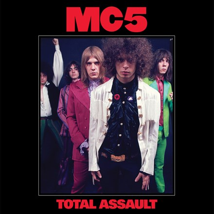 MC5 Total Assault: 50th Anniversary Collection 3 LP BOX SET Red, White & Blue Vinyl