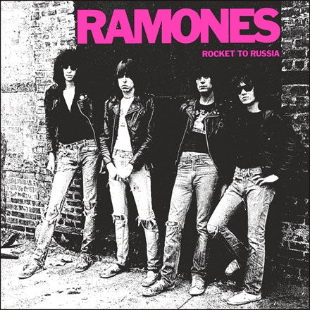 RAMONES Rocket To Russia LP