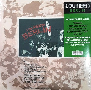 LOU REED Berlin LP