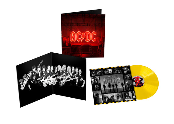 AC/DC Power Up LP Transparent Yellow Vinyl INDIE EXCLUSIVE