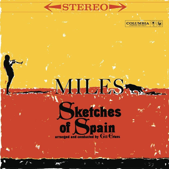 MILES DAVIS	Sketches of Spain LP YELLOW VINYL