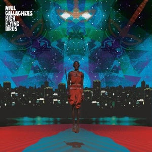 "NOEL GALLAGHER'S HIGH FLYING BIRDS This Is The Place EP 12"" TURQUOISE VINYL"