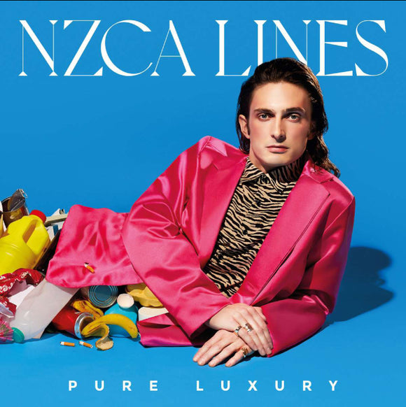 NZCA LINES Pure Luxury LP with signed print