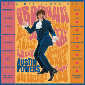 OST: AUSTIN POWERS: INTERNATIONAL MAN OF MYSTERY Austin Powers: International Man of Mystery 2LP RSD DROP 3
