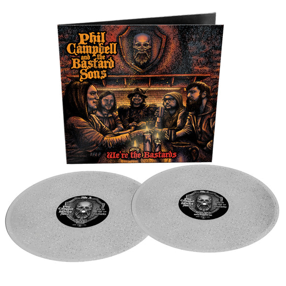 PHIL CAMPBELL & THE BASTARD SONS  We're the Bastards 2LP Limited Sparkle Vinyl